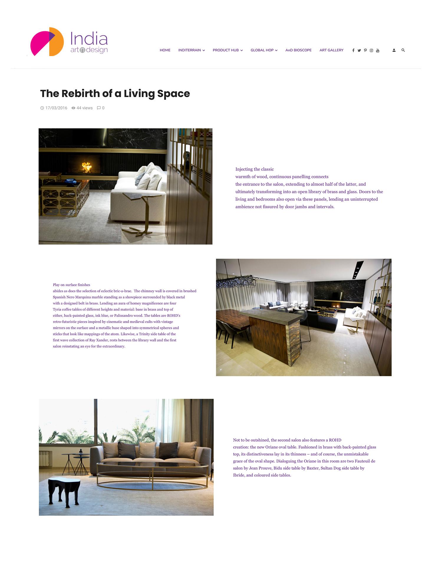 India Art Design – 2016